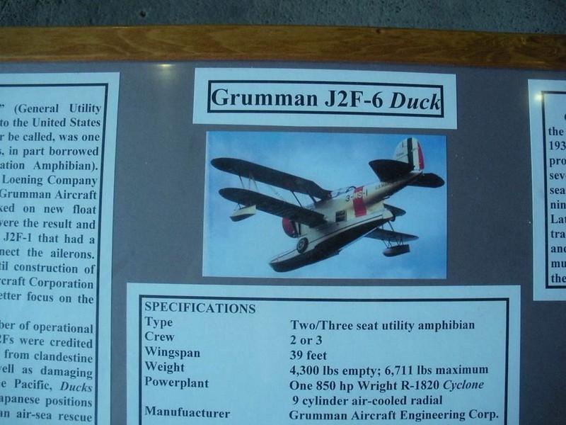 Grumman J2F-6 Duck 1