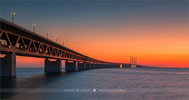 Oresund Bridge - Malmo - Sweden