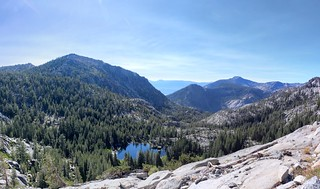 1697 Grouse Lakes below us and Mount Tallac on the right, from the Tahoe-Yosemite Trail | by _JFR_