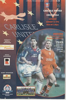 Carlisle V Chesterfield 13-1-96 | by cumbriangroundhopper