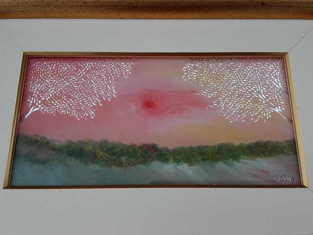 Gallery Gonski, Glass Oil Painting by Mimi Marjanović-Gonski