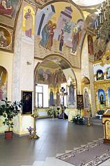 Внутренняя роспись храма Александра Невского.