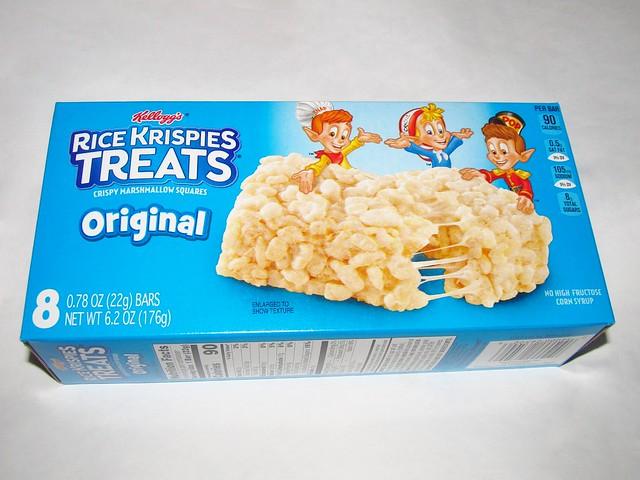 Original RIce Krispies Treats Box