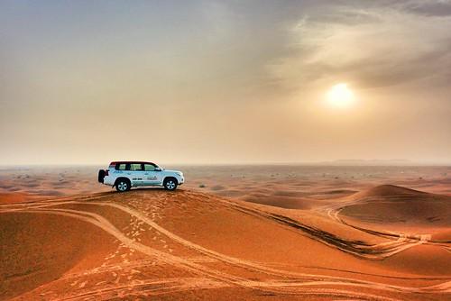 safaridésert sable désert dubaï sand desert sunset
