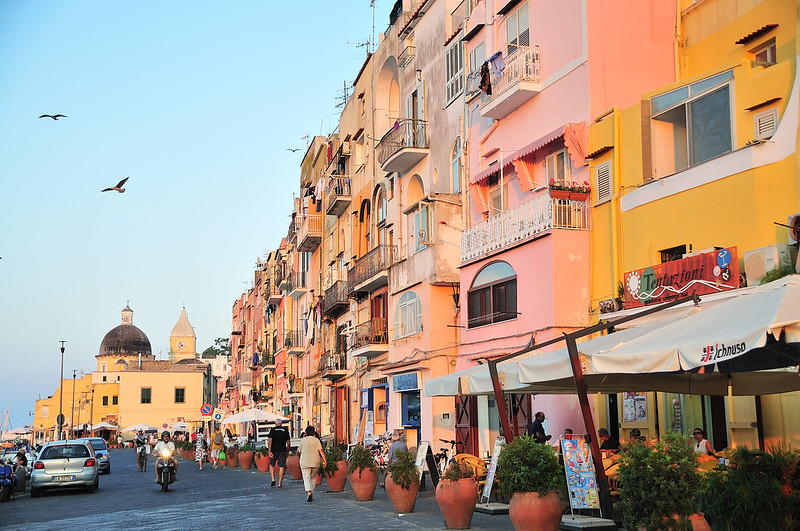 Procida Island, Coast Of Naples (Napoli)