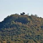 Ruine der Wolkenburg auf dem gleichnamigen Berg