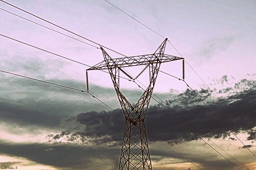 antena days 365days altatensión antenna torre tower color colores cielo colors clouds sky atardecer sunset
