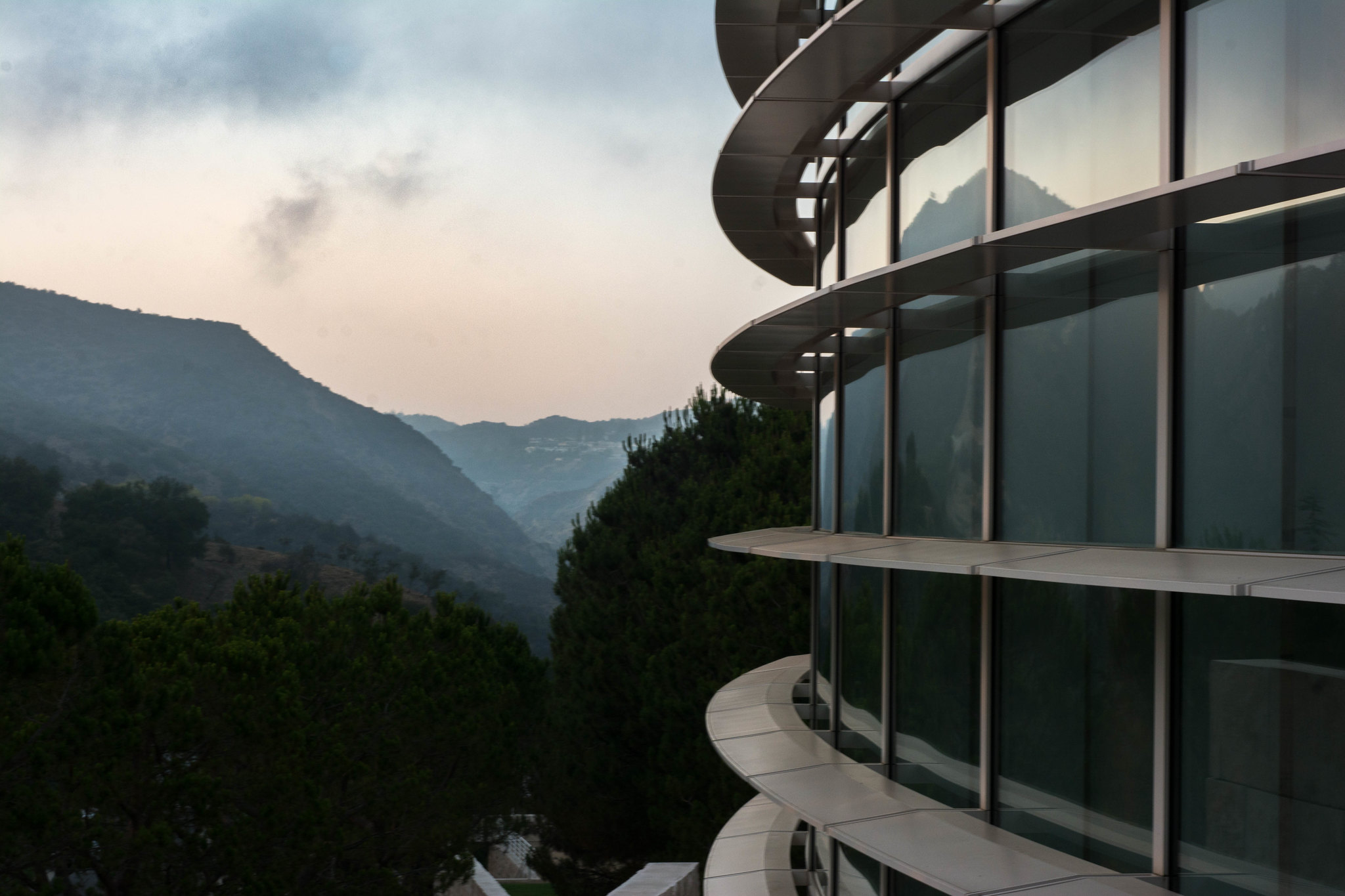 Modern With Mountains