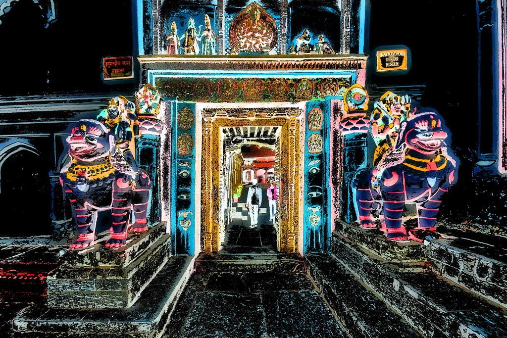 Nepal - Kathmandu - Hanuman Dhoka - 105dd | Kathmandu is the
