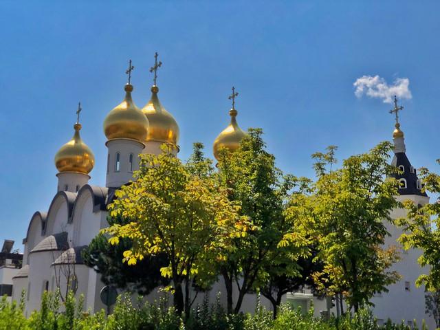 Catedral ortodoxa rusa de Madrid (Santa María Magdalena) en el distrito de Hortaleza