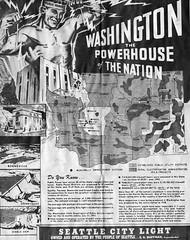 City Light newspaper ad, 1943