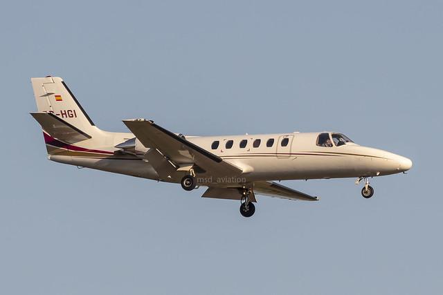Cessna 550 Citation II EC-HGI