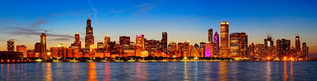 Chicago, Illinois, USA. Mann / Singel / ID: 3062865.