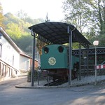 Am Talbahnhof der Drachenfelsbahn