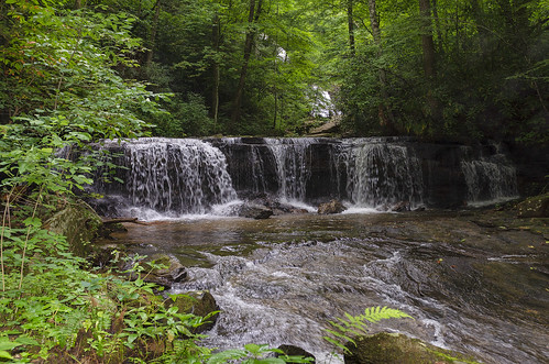 saluda north carolina the south blue ridge mountains pacolet river water stream hike hiking outdoor landscape woods forest waterfall