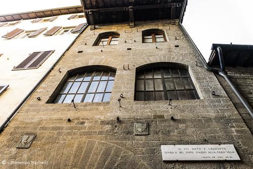 L'antica casa Dante Alighieri a Firenze - The ancient Dante Alighieri house in Florence