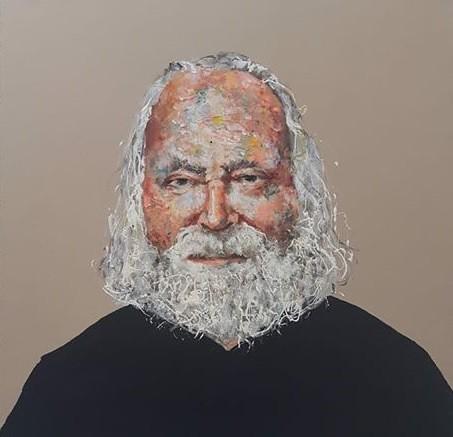 Jan Theuninck painted by Sarah Melloul, 2018