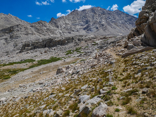 Use trail leading to Lake 11,773 | by snackronym