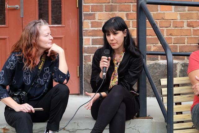 Aldís Ellertsdóttir Hoff och Hasti Radpour