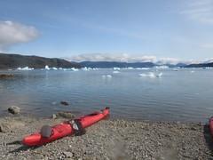 Kayak in Greenland