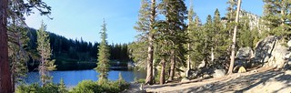 1661 Panorama view of our campsite on the northern shore of Rubicon Lake - a great place to camp! | by _JFR_