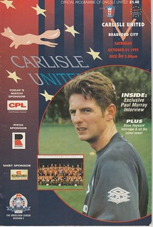 18.Carlisle V Bradford City 21-10-95 | by cumbriangroundhopper