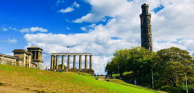 Playfair monument - National monument - Nelson monument
