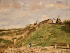 The hill of Montmartre with a stone Quarry - Vincent van Gogh