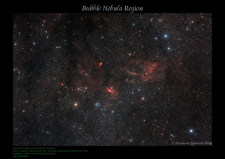 Bubble Nebula Region | by AstroBetta
