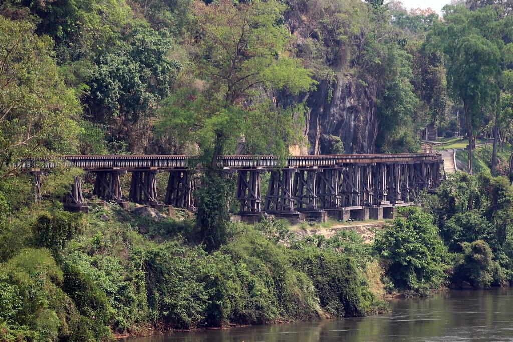Death Railway, Kanchanaburi, Thailand 2018 | The Burma Railw