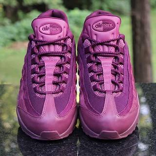 7defa0618f Nike Air Max 95 Premium Vintage Wine Men's Size 8.5 Retro 538416-601   by  ...