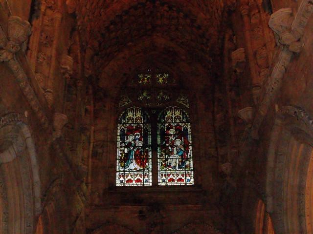 Inside of Rosslyn Chapel