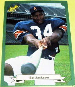 79a11jpg Bo Jackson 1987 Classic Rookie Card Blake