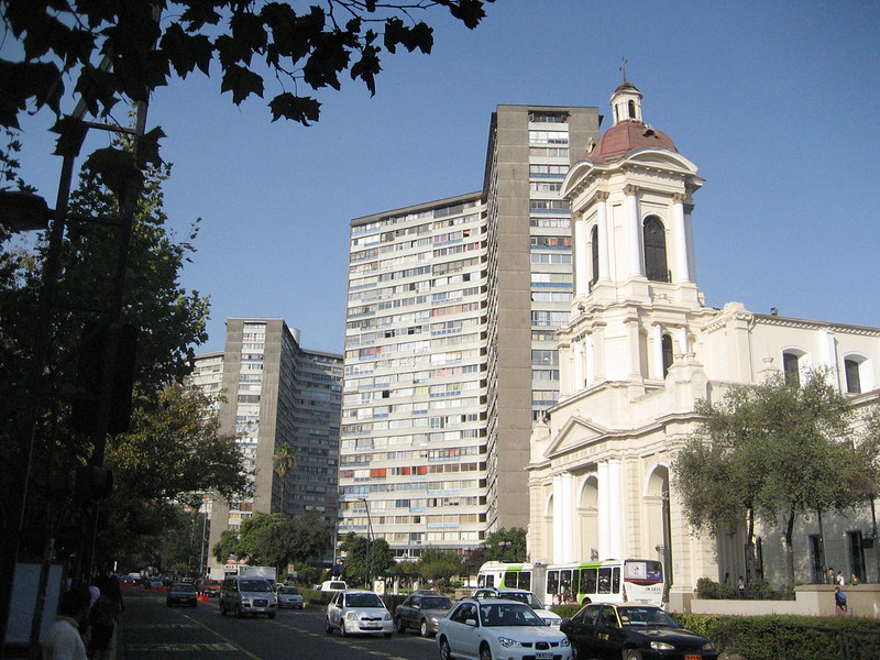 Apartments & Church of the Divine Providence