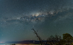 Milky Way over Shepherds Lookout - star-tracker used.