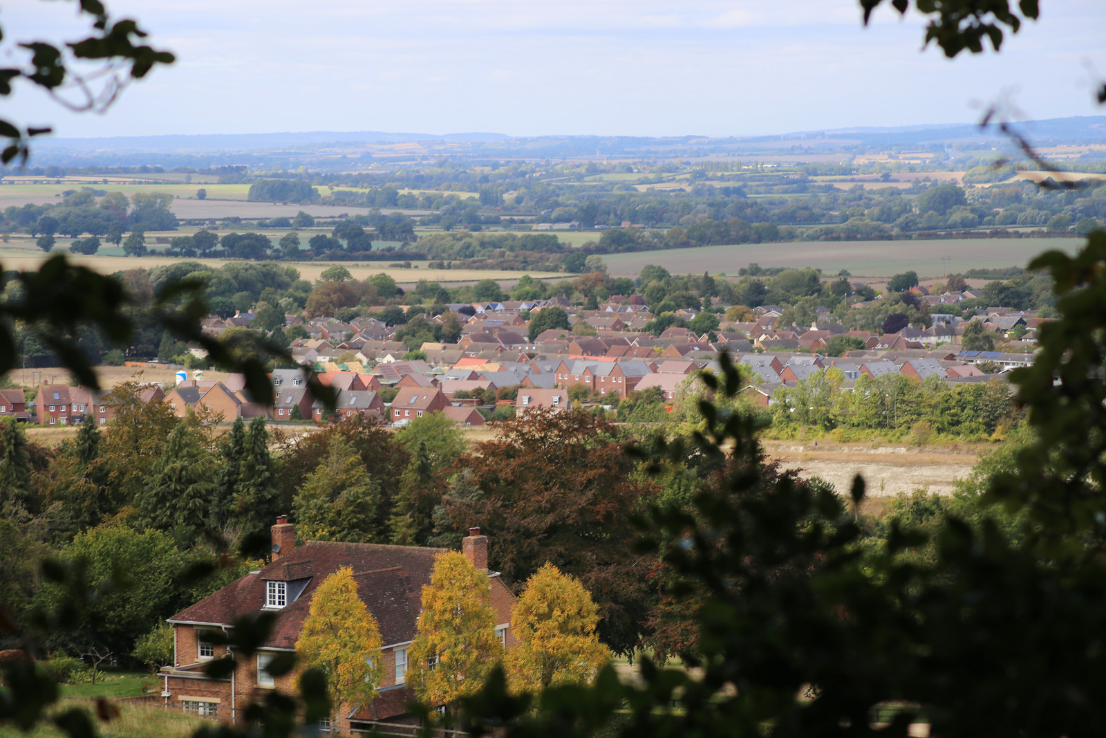 The Chiltern hills near Chinnor