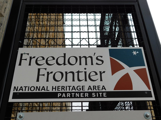 Freedom's Frontier National Heritage Area Sign