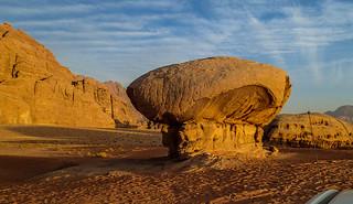 Mushroom Rock in sunset | by Masa Sakano