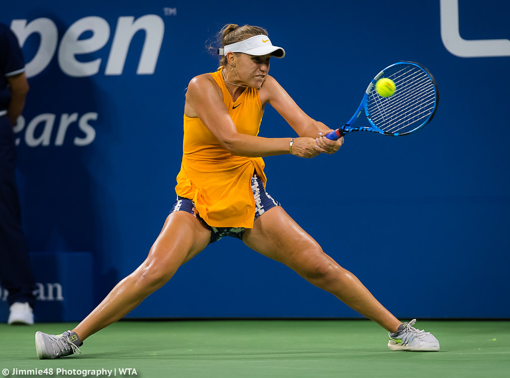 Sofia Kenin Sofia Kenin Of The United States In Action Dur Flickr