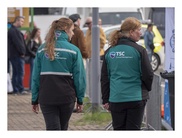 Crowd control at the Word Port Days 2018