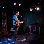 Wed, 05/09/2018 - 12:40am - Amos Lee performs an FUV Live session at the McKittrick Hotel in New York City, 9/4/18. Hosted by Rita Houston. Photo by Gus Philippas/WFUV