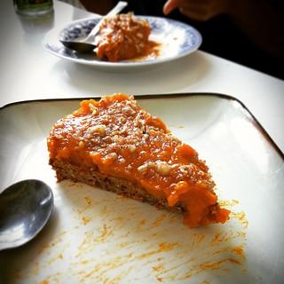 (50% Raw food) Pumpkin spicy cake 🎃🍁🍮