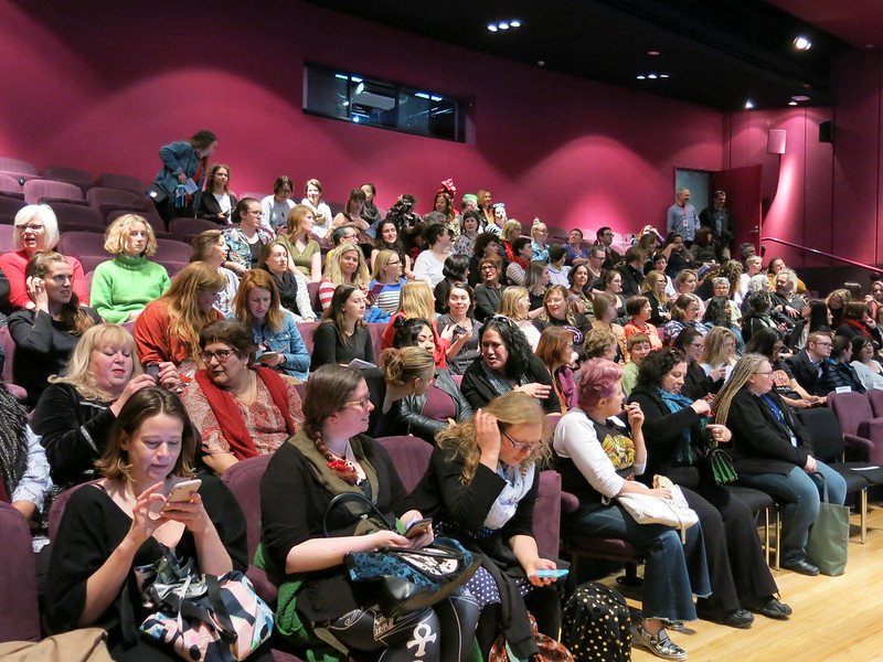 Full house at The Body Issue: WORD Christchurch Festival 2018