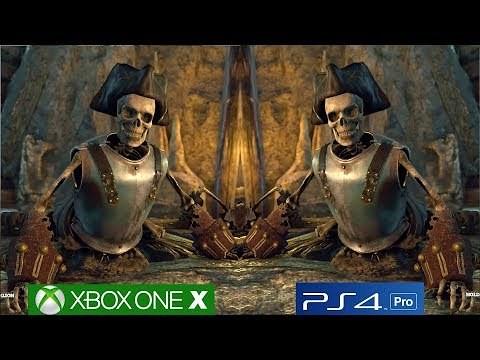 Strange Brigade – Full Graphics Analysis, PS4 PRO vs Xbox