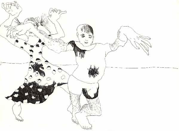 Boy Girl Art Drawing