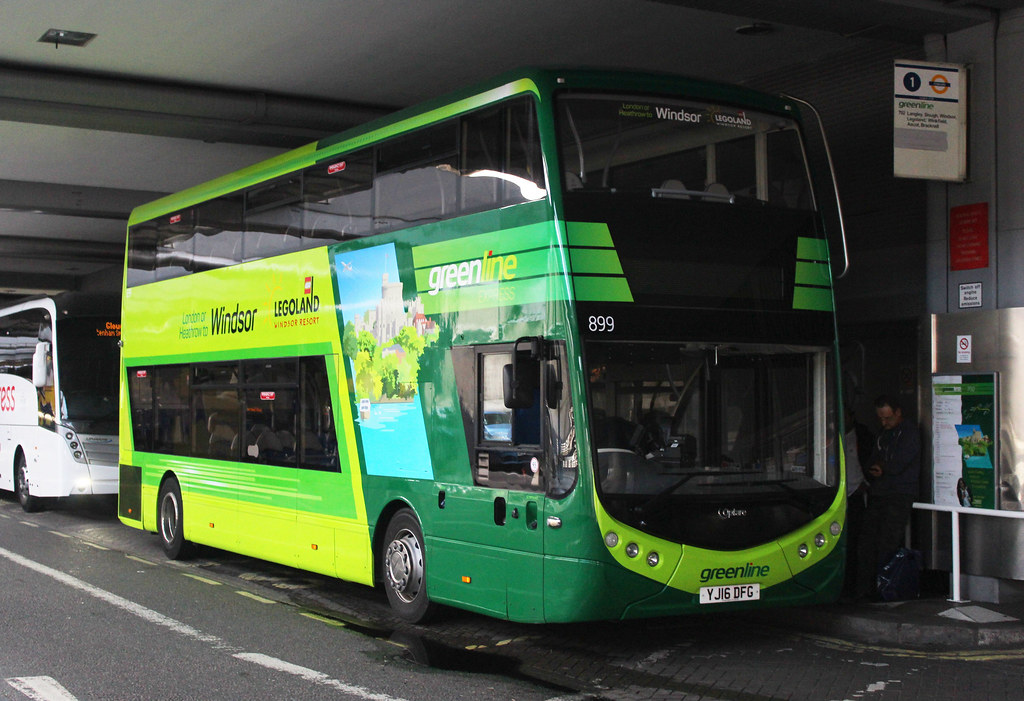 crazy price pretty cheap best sale Reading Buses Greenline Optare Metrodecker YJ16 DFG 899 ...