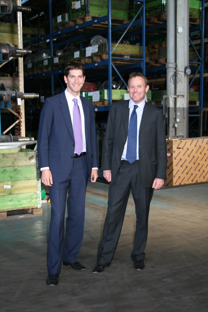 Nick Herbert MP visits Keltruck Scania Vehicle Recycling