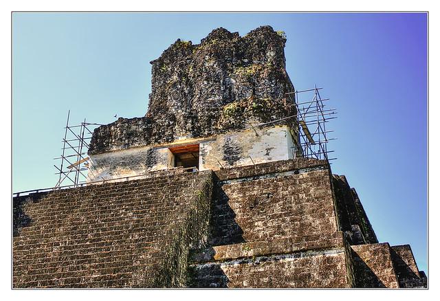 Tikal GCA - Temple II - Temple of the Mask 07