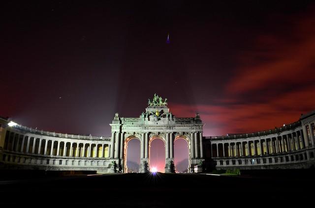 Cinquantenaire park triumphal arch