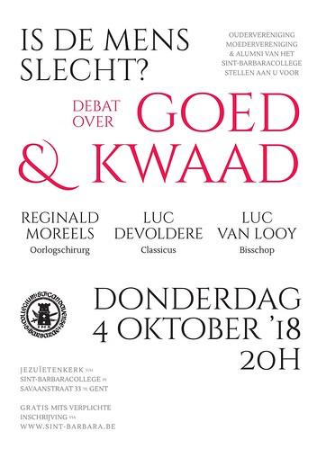 Debat over Goed & Kwaad